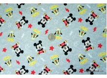 *FN02573-* Jersey Knit: Mickey and Pluto